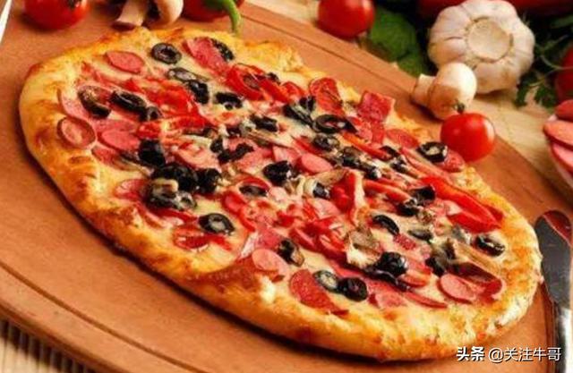 中式批萨制作方法,口味决对好吃,在家可以学着做