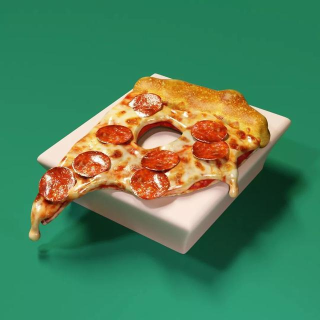 """品牌丨这个美国人,用3D做了一套""""可以吃的字体"""""""